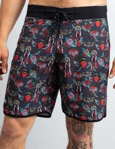 HOLIDAY PRAYER SWIM TRUNKS